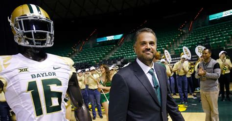 Coach Top Leader In Handle college sports the advice that bill o brien gave matt rhule about how to handle being baylor s