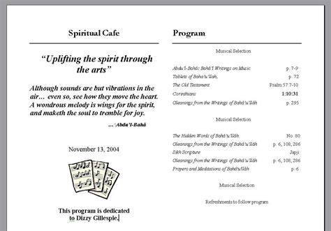 program format for events korest jovenesambientecas co