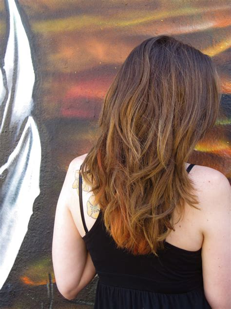 tips on the bottom of hair bottom layers hair dye seamstresserin designs