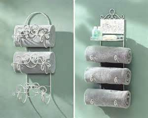 Bathroom Towel Holder Ideas Decorating Bathroom With Towels Room Decorating Ideas