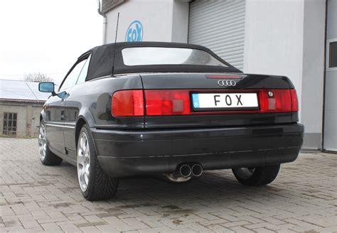 Audi 80 Sportauspuff by Fox Sportauspuff Audi 80 90 Typ 89 B3 Limousine