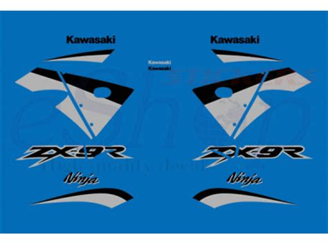 Zx9r Aufkleber Set by Zx 9r 2003 Set 1 Eshop Stickers