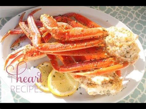 how to cook snow crab leg in the oven easy seafood