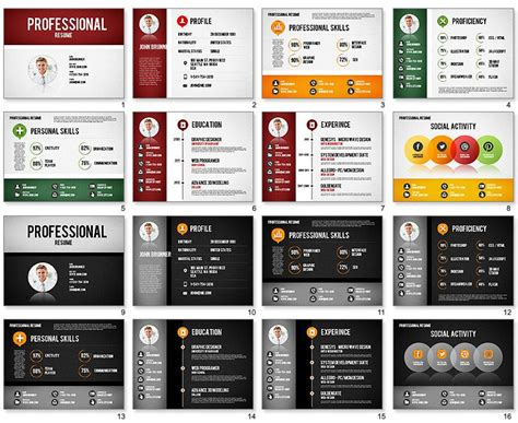 powerpoint resume templates professional resume template for powerpoint powerpoint