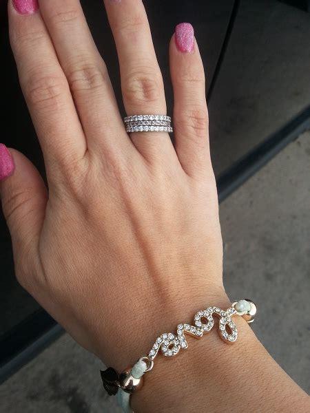 Royal Blue 3 11 Ct Garansi No Heat eternity band wedding ring trends 2015