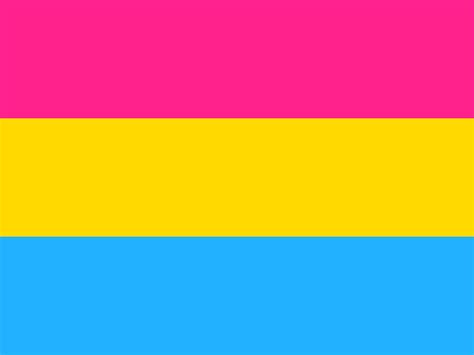 pan colors pansexuality sexinfo