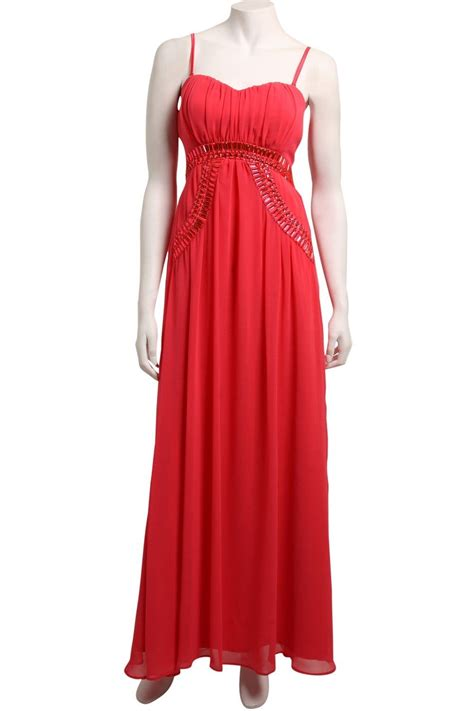 Coral Maxi by Coral Heavy Embellished Maxi Dress