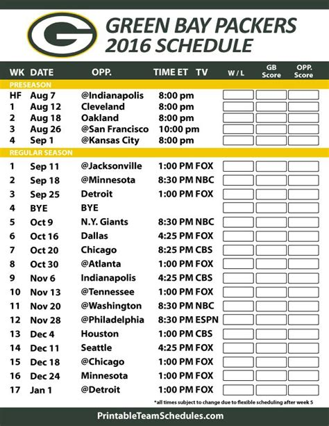 printable packers schedule 1000 images about green bay packers on pinterest bart