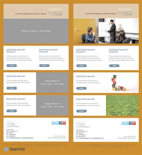 layout email marketing gratis master plantilla html gratis para newsletter en email