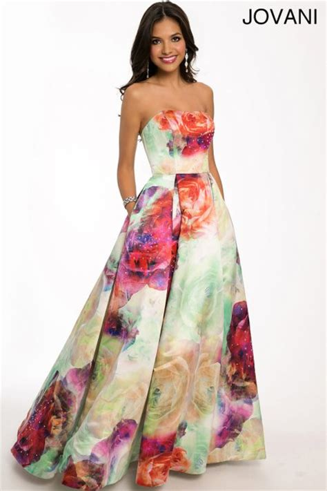 top 3 floral prom ball gowns by jovani 2015 prom night