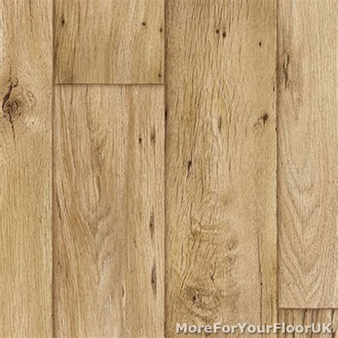 3.8mm Thick Vinyl Flooring Realistic Warm Wood Plank