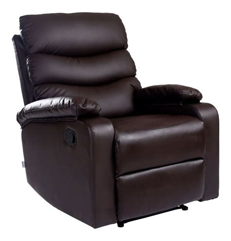 Recliner Armchair Leather by Ashby Leather Recliner Armchair Sofa Home Lounge Chair