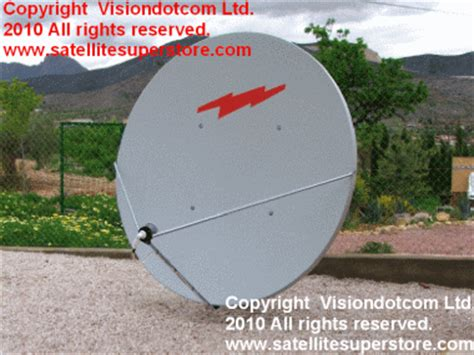 Dish Solid Freesat 8 Ft 2 4 Meter satellite systems for spain large satellite dishes sky