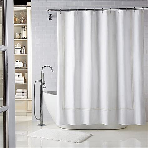 wamsutta shower curtain buy wamsutta 174 baratta stitch 72 inch x 72 inch shower