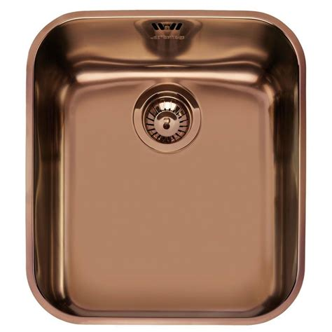 Smeg Um45ra Undermounted Kitchen Sink Single Bowl Copper