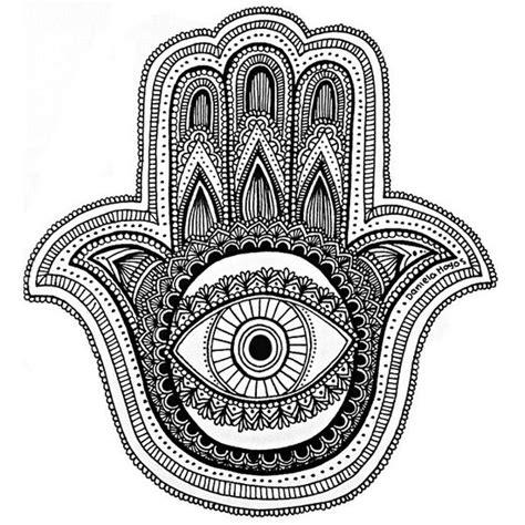la mano de ftima 8425343542 la mano de fatima zentangle art blanco negro y negro