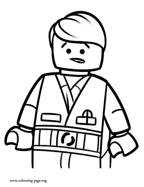 coloring pages lego movie emmet the lego movie emmet a master builder coloring page