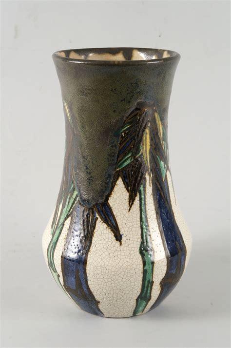 Japanese Pottery Vases by Japanese Pottery Vase Naga Antiques