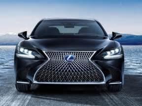 Lexus Ls Hybrid 2018 Lexus Ls 500h Hybrid Unveiled Kelley Blue Book