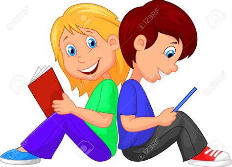 libro a woman looking at boy and reading book clipart clipartxtras