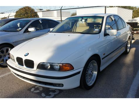 how cars run 1999 bmw 5 series electronic throttle control bmw 5 series 1999 white sedan 528i 6 cylinders automatic 78729 171 bmw 5 series 1999 white sedan
