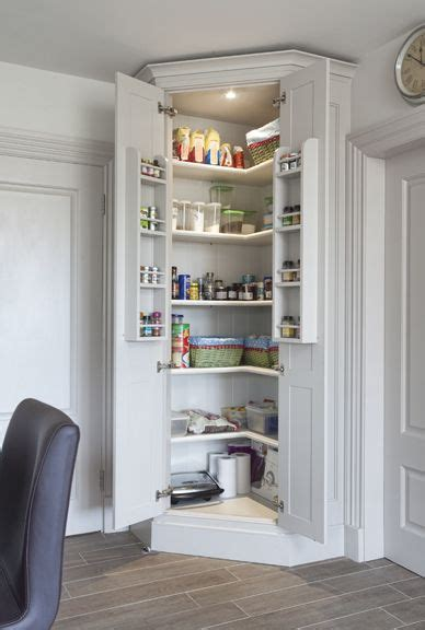 bespoke kitchen pantry cupboards feature rows
