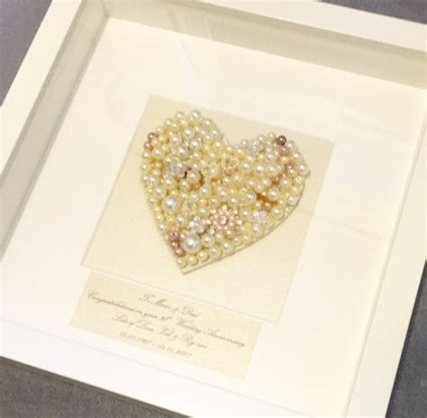 Wedding Anniversary Gifts Pearl by 25 Best Ideas About Pearl Wedding Anniversary Gifts On