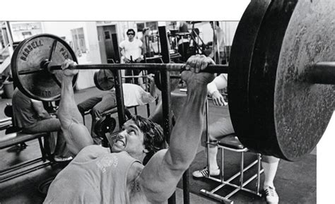 arnold schwarzenegger bench max hold tight build a bigger bench press