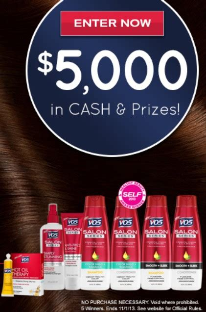 Vo5 Sweepstakes - the vo5 beauty for all anti frizz sweepstakes mumblebee inc mumblebee inc
