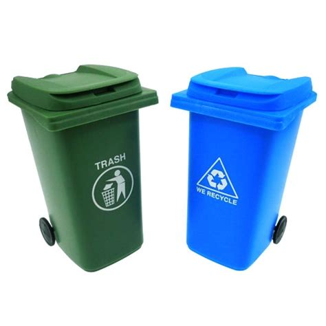 trash storage containers mini trash recycle tote set glop ink store