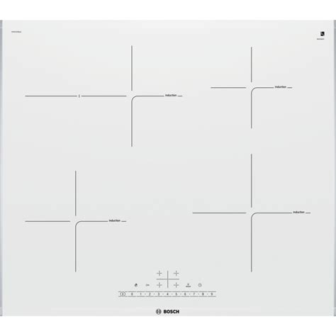 BOSCH INDUCTION HOB PIF672FB1E TOUCH CONTROL 60 CM WHITE