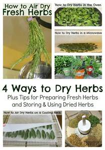 how to dry herbs 4 methods to dry fresh herbs