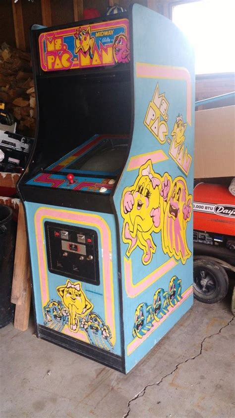 ms pacman arcade cabinet arcade machine pacman for sale classifieds