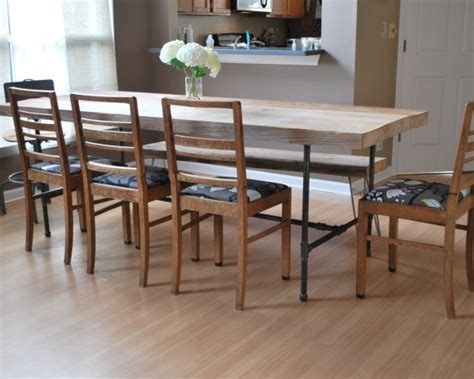 Narrow Dining Room Tables Reclaimed Wood by 1000 Images About Dining Tables For Narrow Spaces On