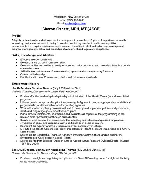 resume community service exle exles of resumes
