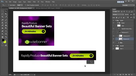 design banner photoshop banner design in photoshop cs6 youtube