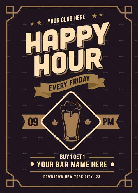 happy hour menu template 14 happy hour menu designs templates psd ai free