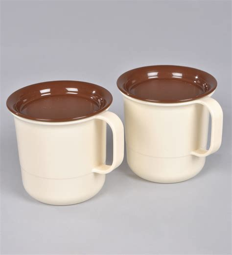 Coffee Mug Tupperware tupperware coffee mugs with lid set of 2 available at