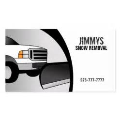 snow removal business cards snow removal business cards