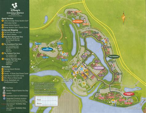 dvc map saratoga springs resort map dvc welcome home