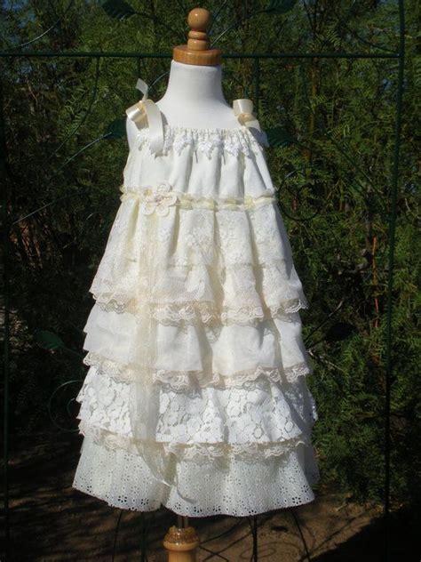 shabby chic flower dress