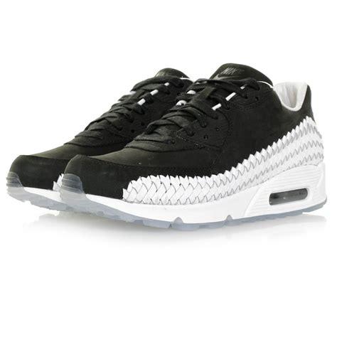 Nike Air Max 90 Woven All White nike air max 90 woven black shoe