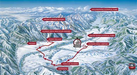 map of teton ski runs map usa states map collections