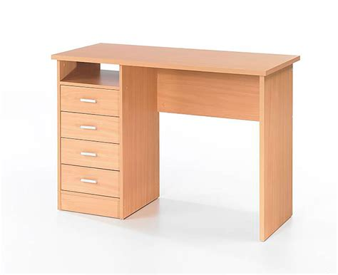 Office Desk With Drawers Wessex Home Office Desk With 4 Drawers 163 49 99 Picclick Uk