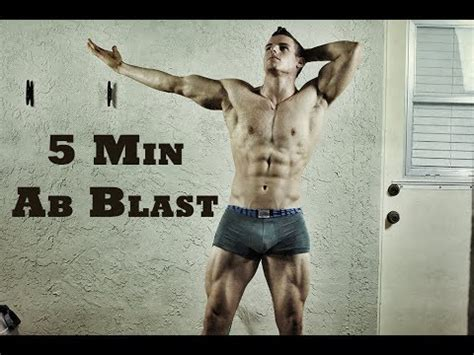 5 minute home abs workout no equipment needed how to
