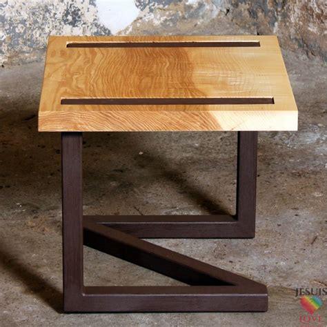 Table De Chevet Acier by Table De Chevet Design En Bois Et Acier