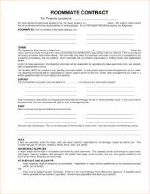 Agreement Letter For Roommate 8 Roommate Contract Template Timeline Template