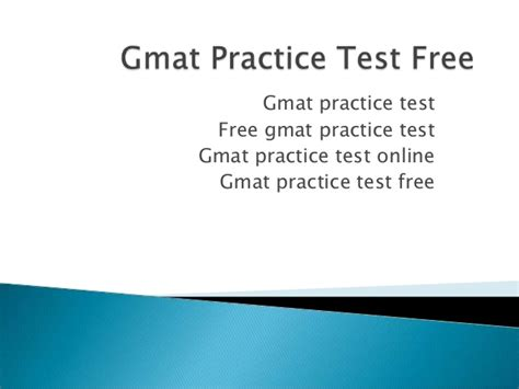 Mba Test Preparation by Gmat Practice Test Free Gmat Practice Test Gmat