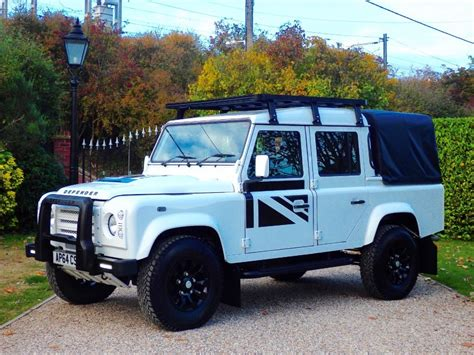 white land rover defender used white land rover defender for sale essex