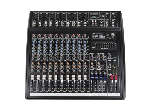 Mixer Audio 16 Ch 16 channel audio mixer with dsp usb monoprice